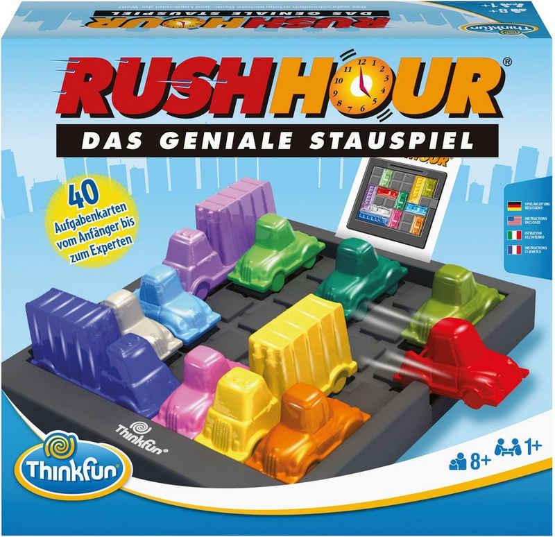 Thinkfun® Spiel, Geschicklichkeitsspiel »Rush Hour - Das geniale Stauspiel«
