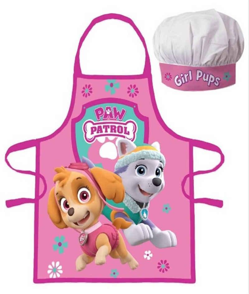 PAW PATROL Kochschürze »PAW Patrol - Skye & Everest - Schürze für Mädchen, 45x55 cm«, (Kinderschürze, one size), 100% Polyester