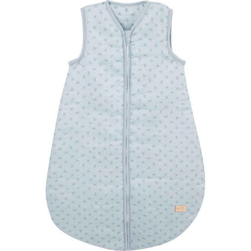 """roba® Babyschlafsack »Schlafsack """"Lil Planet"""", 100% Baumwolle, blau, 70«"""