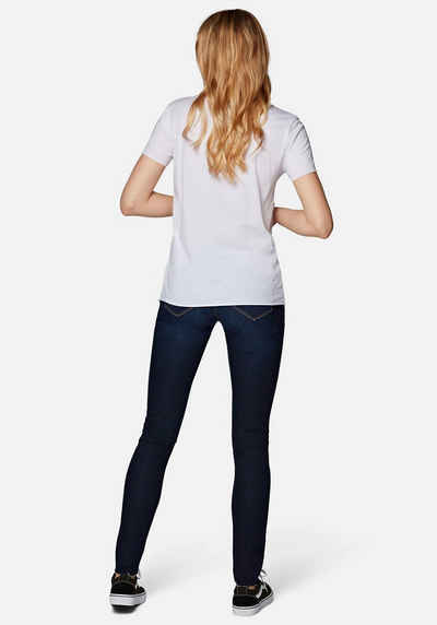 Mavi T-Shirt »CATS PRINTED TEE« mit Katzendruck vorne