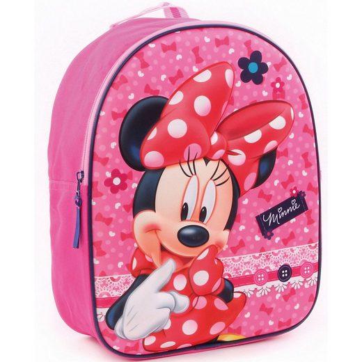 Vadobag Kindergartentasche »Kinderrucksack 3D Minnie Mouse«
