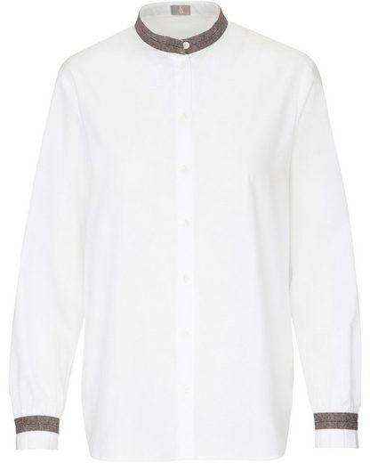 Jacques Britt Hemdbluse »Bluse mit Zierbändern«