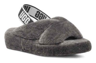 UGG »Fab Yeah« Sandale mit coolem Gummiband mit Logodruck