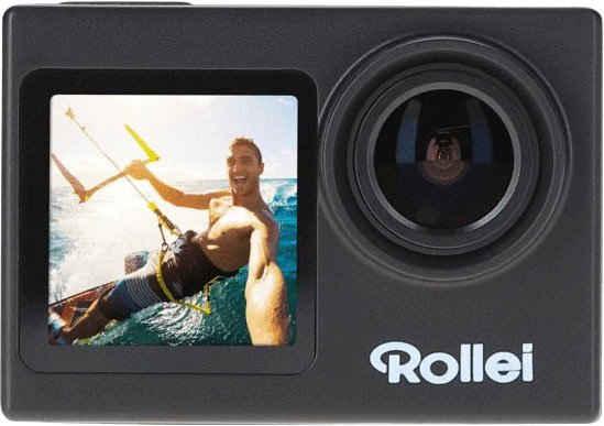 Rollei »7s Plus inkl. 32GB SD-Karte« Action Cam (4K Ultra HD, WLAN (Wi-Fi)