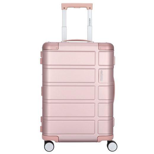 American Tourister® Handgepäck-Trolley »Alumo«, 4 Rollen, Aluminium