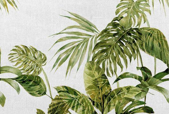 ARCHITECTS PAPER Fototapete »Atelier 47 Tropical Leaves Artwork 1«, Palmen