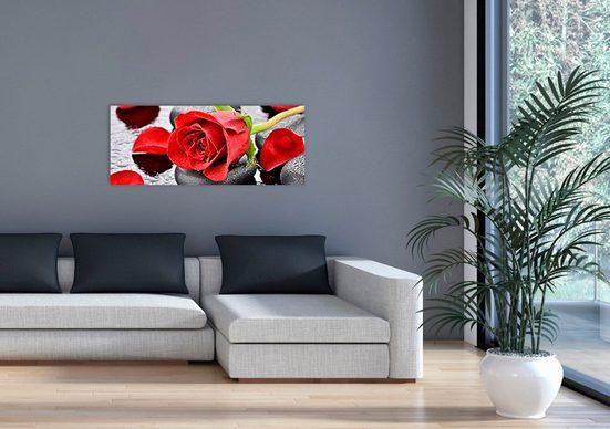 MARMONY Infrarotwandheizgerät »Red Roses MTC-40«, Naturstein, 800 W, beige