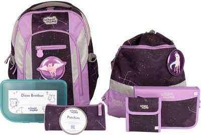 SCHOOL-MOOD® Schulrucksack »Loop Air+, Stella« (Set), aus recyceltem Material
