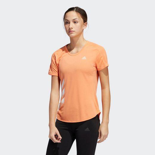 adidas Performance T-Shirt »Run It 3-Streifen Fast T-Shirt«