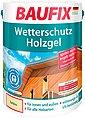 Baufix Holzschutzlasur »Wetterschutz-Holzgel«, 5 Liter, transparent, Bild 1