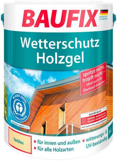 Baufix Holzschutzlasur »Farblos«, 5 Liter, transparent
