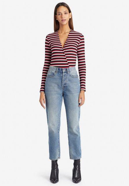 khujo Langarmshirt »OPALI« in Wickel-Optik   Bekleidung > Shirts > Langarmshirts   khujo