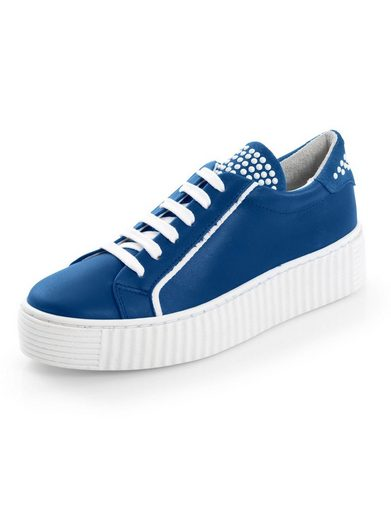 Alba Moda Sneaker mit geriffelter Plateausohle