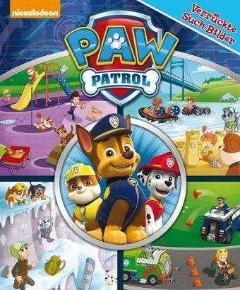 Buch mit Papp-Einband »PAW Patrol - Verrückte Such-Bilder, groß -...«