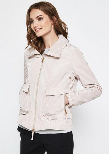 COMMA Leichte Jacke mit Kapuze