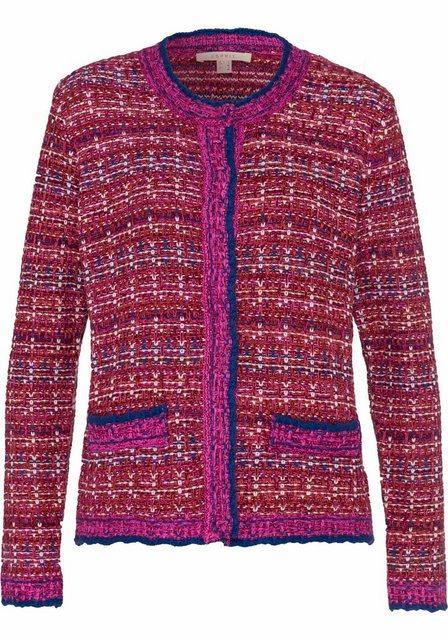 Damen Esprit Cardigan mit Druckknöpfen rot | 04060468146876
