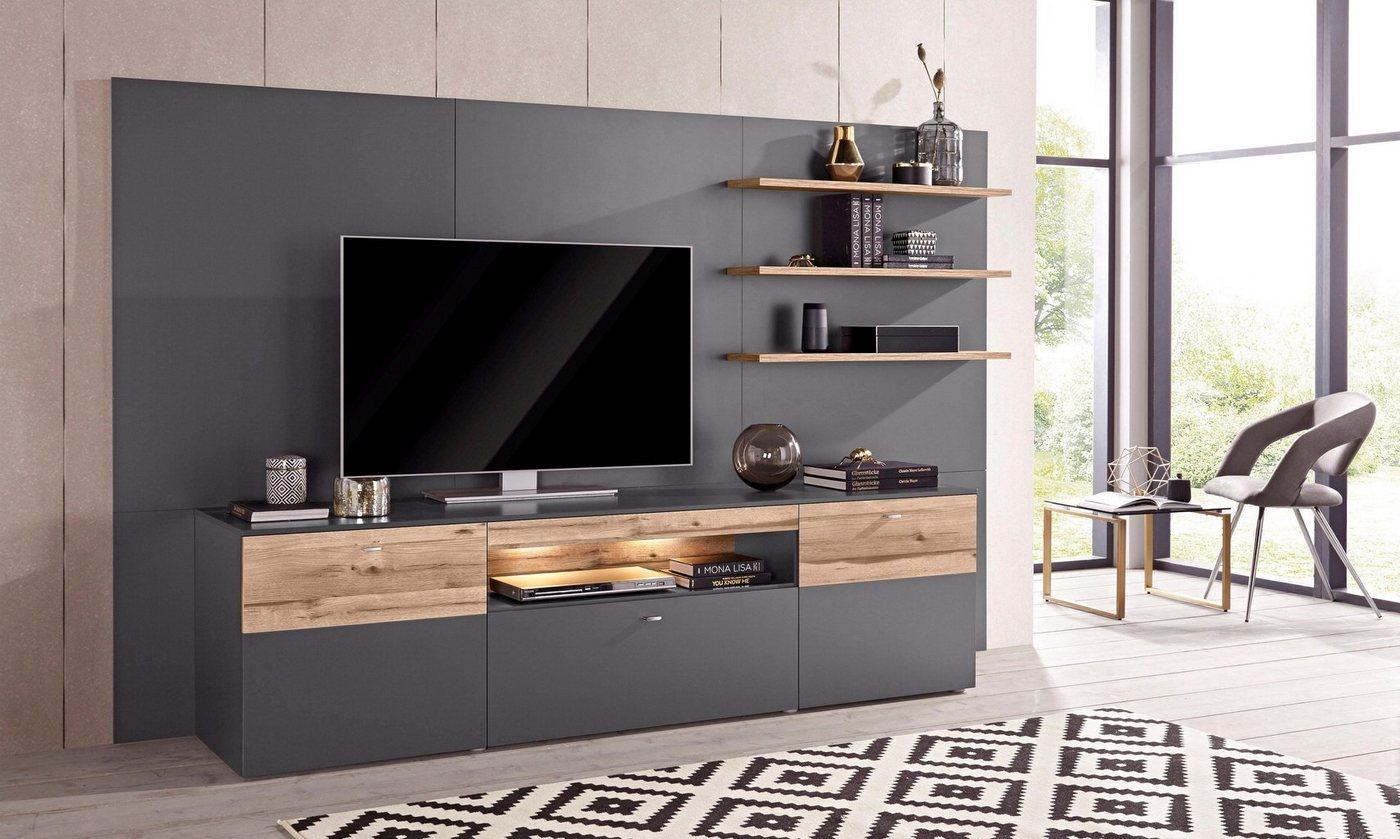 mediawand tv machen sie den preisvergleich bei nextag. Black Bedroom Furniture Sets. Home Design Ideas