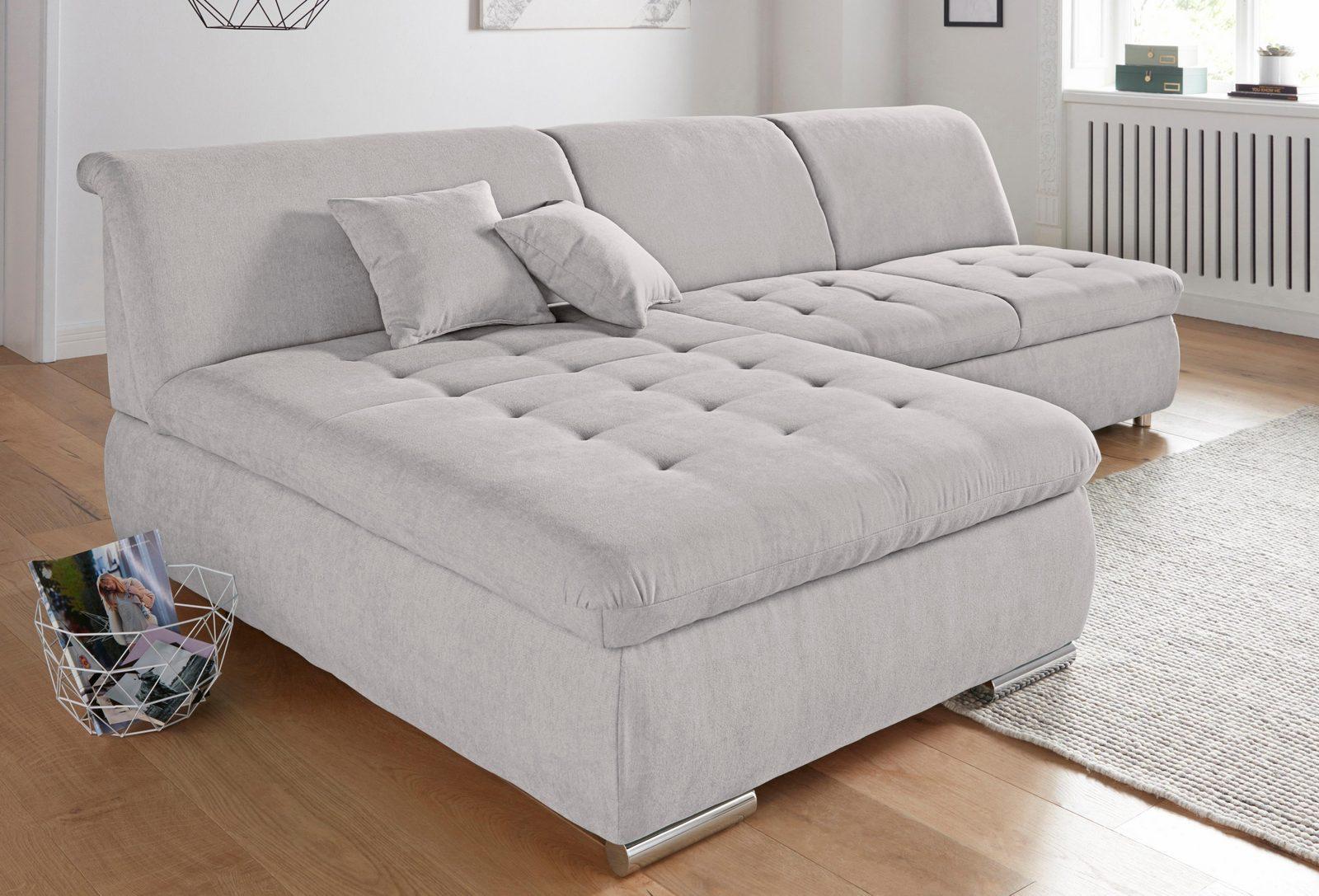 Polsterecke, wahlweise mit Bettfunktion und Bettkasten jetztbilligerkaufen