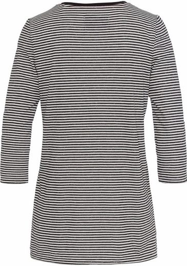EDC by Esprit Print-Shirt, mit Herzprint und Schriftzug