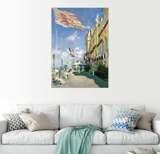 Posterlounge Wandbild - Claude Monet »Hotel des Roches Noires von Trouville«