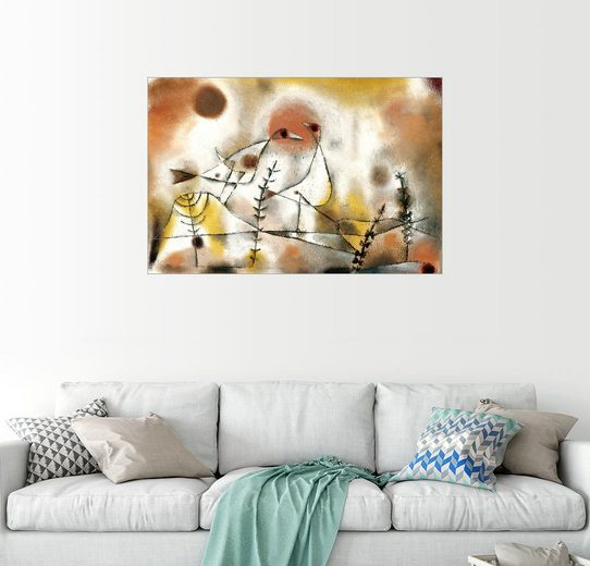 Posterlounge Wandbild - Paul Klee »Schneehühner«