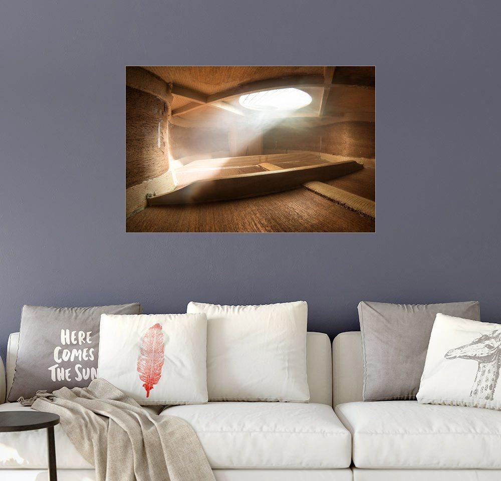 Posterlounge Wandbild - Adrian Borda »Innerhalb einer Gitarre«   Dekoration > Bilder und Rahmen > Bilder   Holz   Posterlounge
