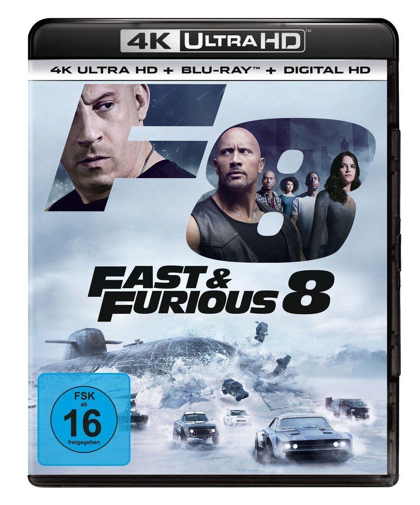 Universal BLU-RAY Film »Fast & Furious 8 - (4K UHD)«