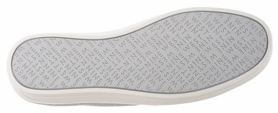 Nine West Odienella2 Slipper, mit raffinierter Zierschleife