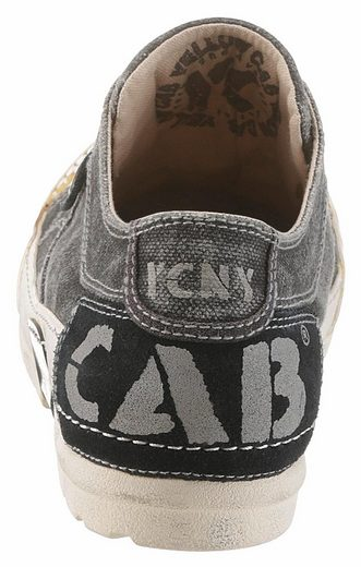 Yellow Cab Sneaker, mit angesagtem Logodruck