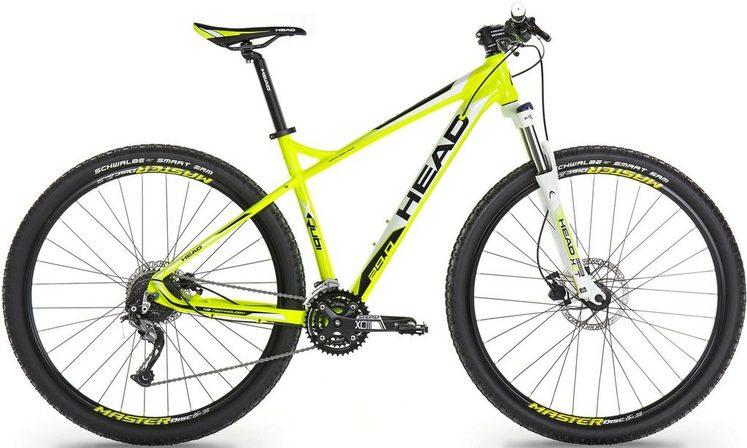 Head Mountainbike »X-Rubi I«, 27 Gang Shimano Shimano Alivio RDM4000 Schaltwerk, Kettenschaltung