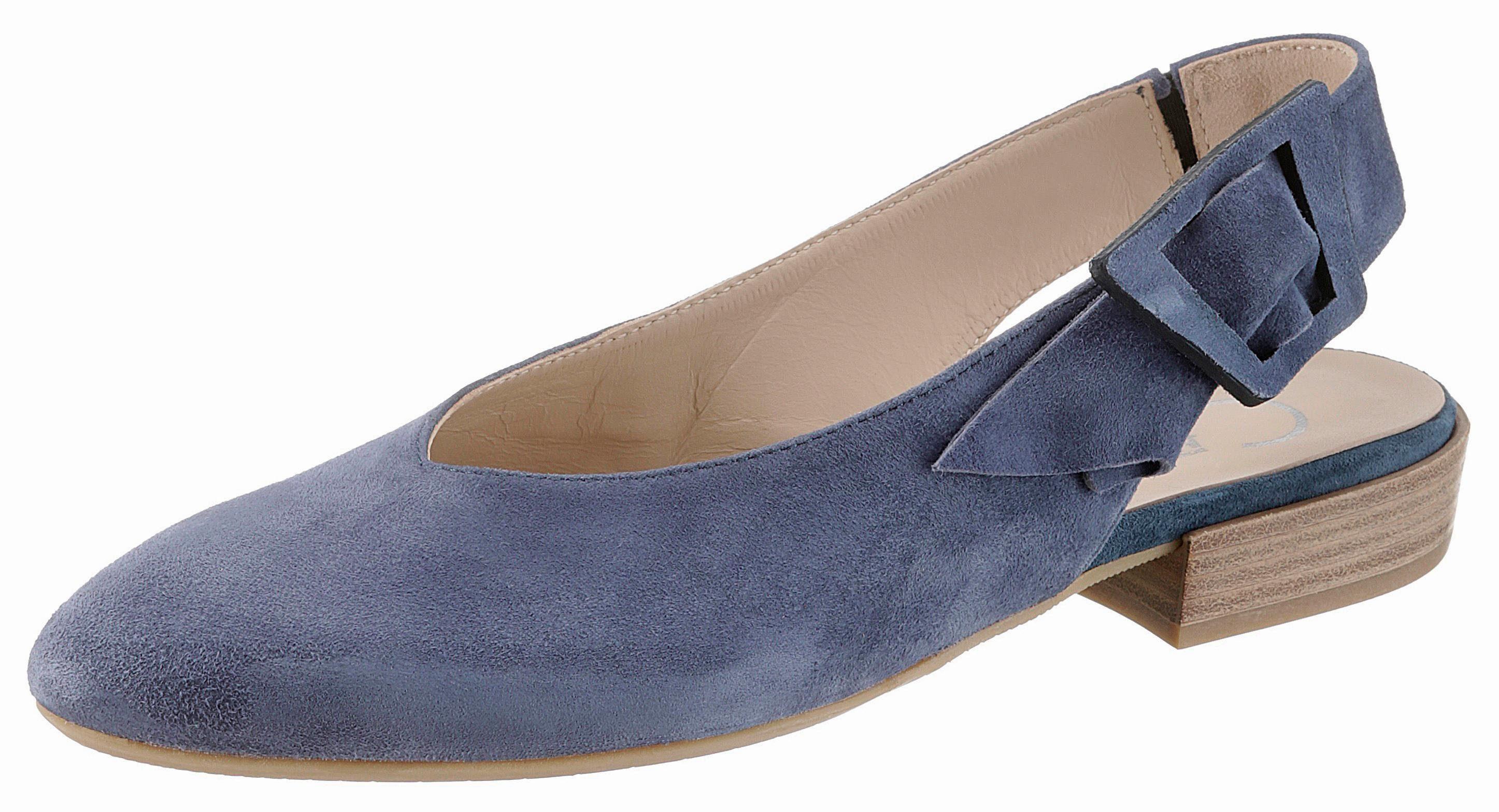 Donna Carolina Slingpumps, im schlichten Design  jeansblau