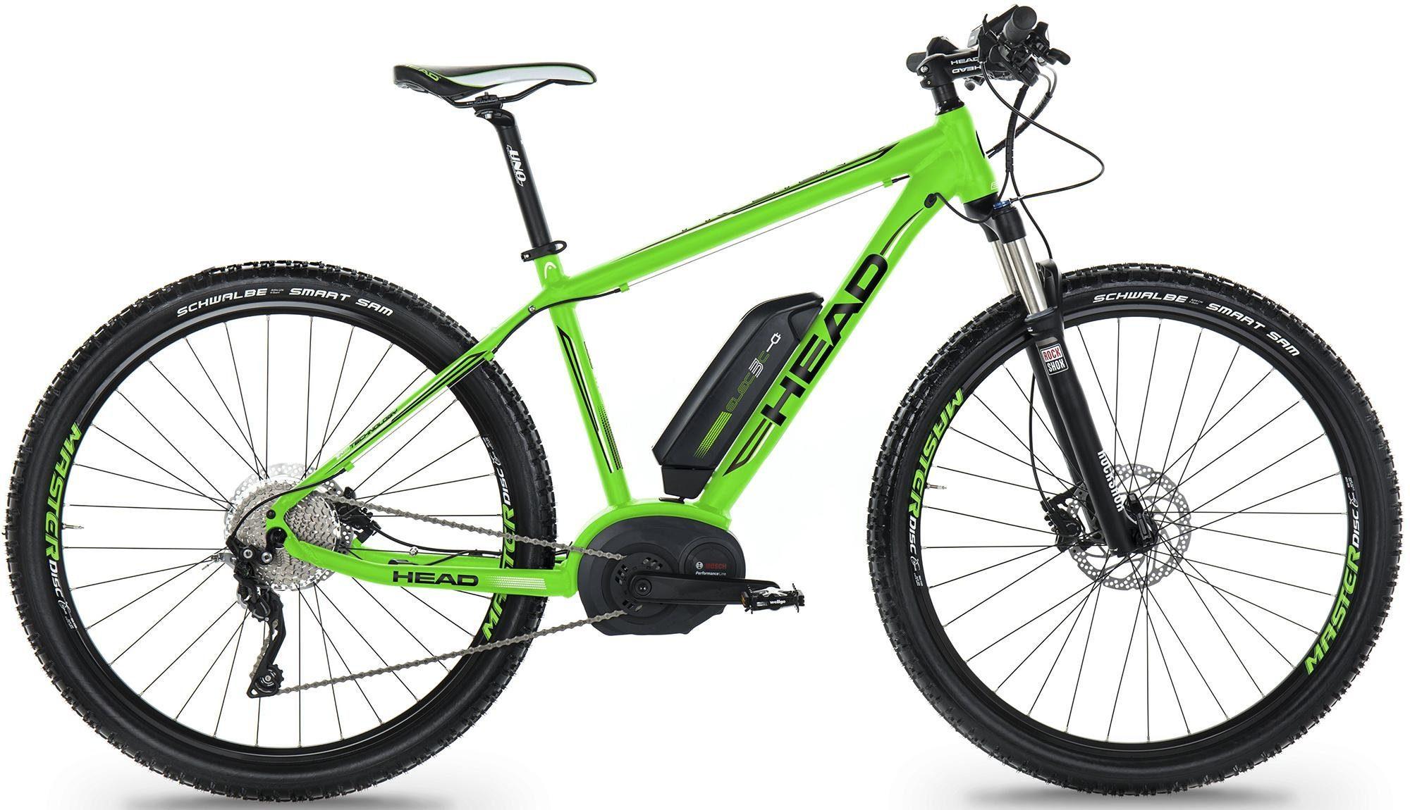 Head E-Bike Mountainbike, 29 Zoll, 10-Gang Shimano Kettenschaltung, »Preston«