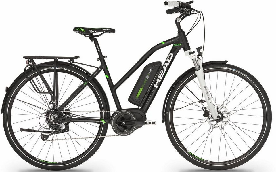 head damen trekking e bike 28 zoll 9 gang shimano. Black Bedroom Furniture Sets. Home Design Ideas
