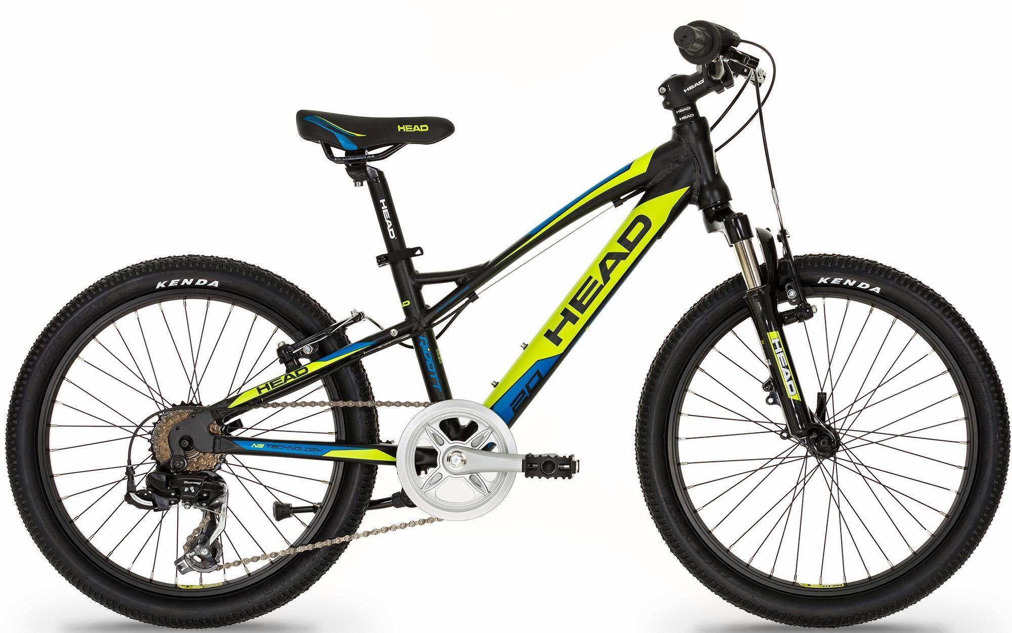 Head Mountainbike »Ridott II«, 7 Gang Shimano Shimano TY500 Schaltwerk, Kettenschaltung
