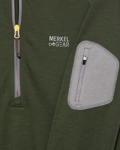 Merkel Gear Équipage À Manches Longues 37,5 Mérinos