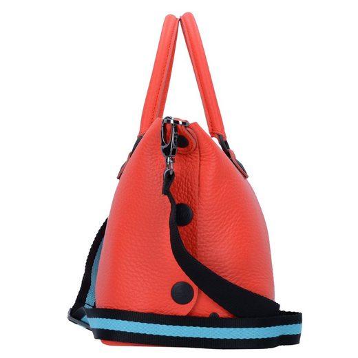 Leder Gsho Cm Gabs 31 Handtasche Fluo x5HYY1t