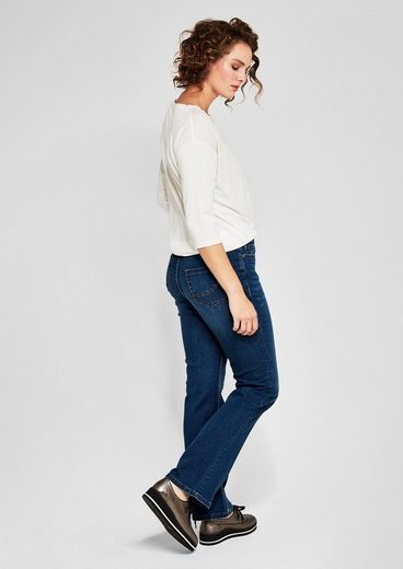 TRIANGLE Curvy Flare: Bootcut-Jeans