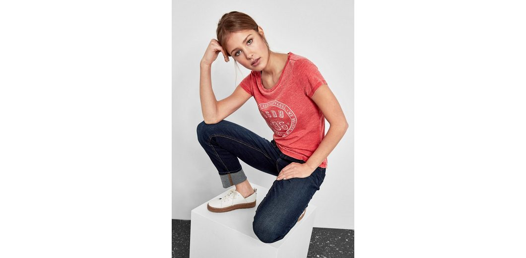 Q/S designed by T-Shirt im Vintage-Look Billig Verkauf In Deutschland Outlet Kaufen LEnVqN