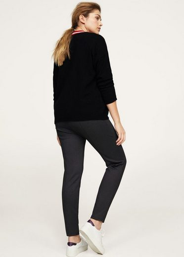 VIOLETA by Mango Feingemusterte Leggings