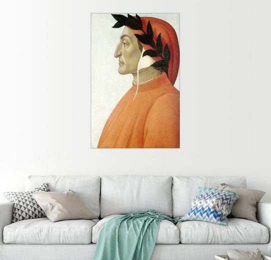 Posterlounge Wandbild - Sandro Botticelli »Dante Alighieri«