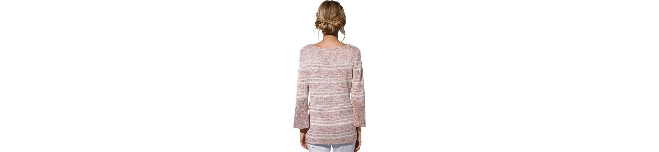 Spielraum Online Amazon Création L Pullover mit eleganten Melange-Streifen Günstiges Preis Original RNLh8V3