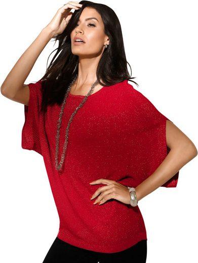 Création L Pullover in effektvoller Glanzgarn-Qualität