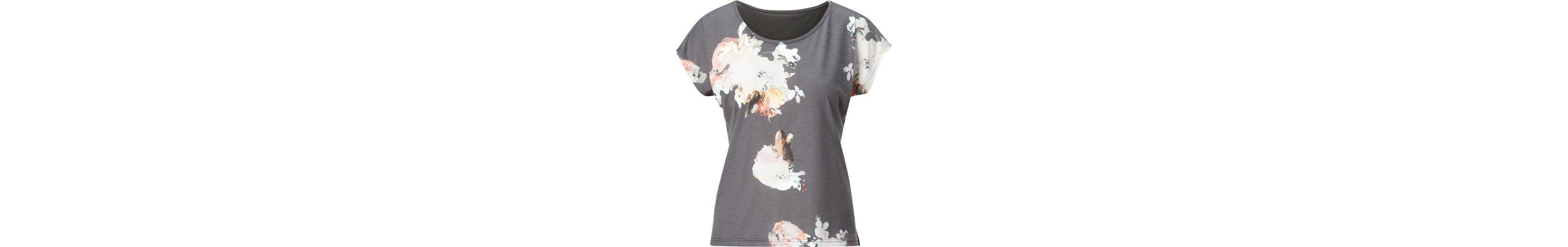 Ambria Shirt mit großen Blüten bedruckt Freies Verschiffen Besuch Neu Spielraum Mit Paypal VyLVE9