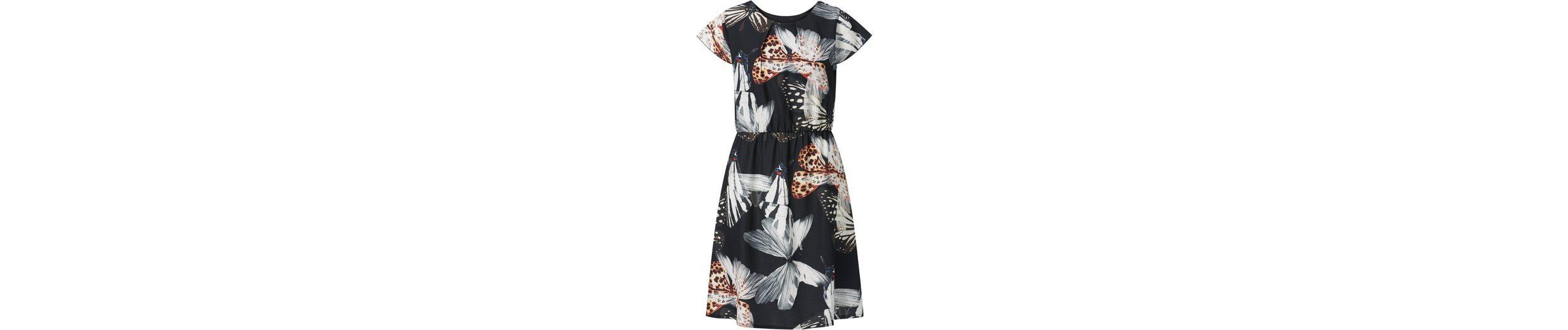 Erscheinungsdaten Authentisch Steckdose Truhe Création L Kleid mit leicht ausgestelltem Rock Freiheit Genießen Uk0w9