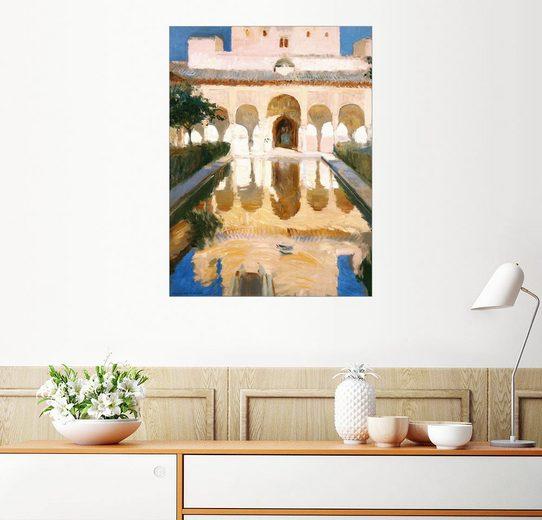 Posterlounge Wandbild - Joaquin Sorolla y Bastida »Botschaftersaal in Alhambra«