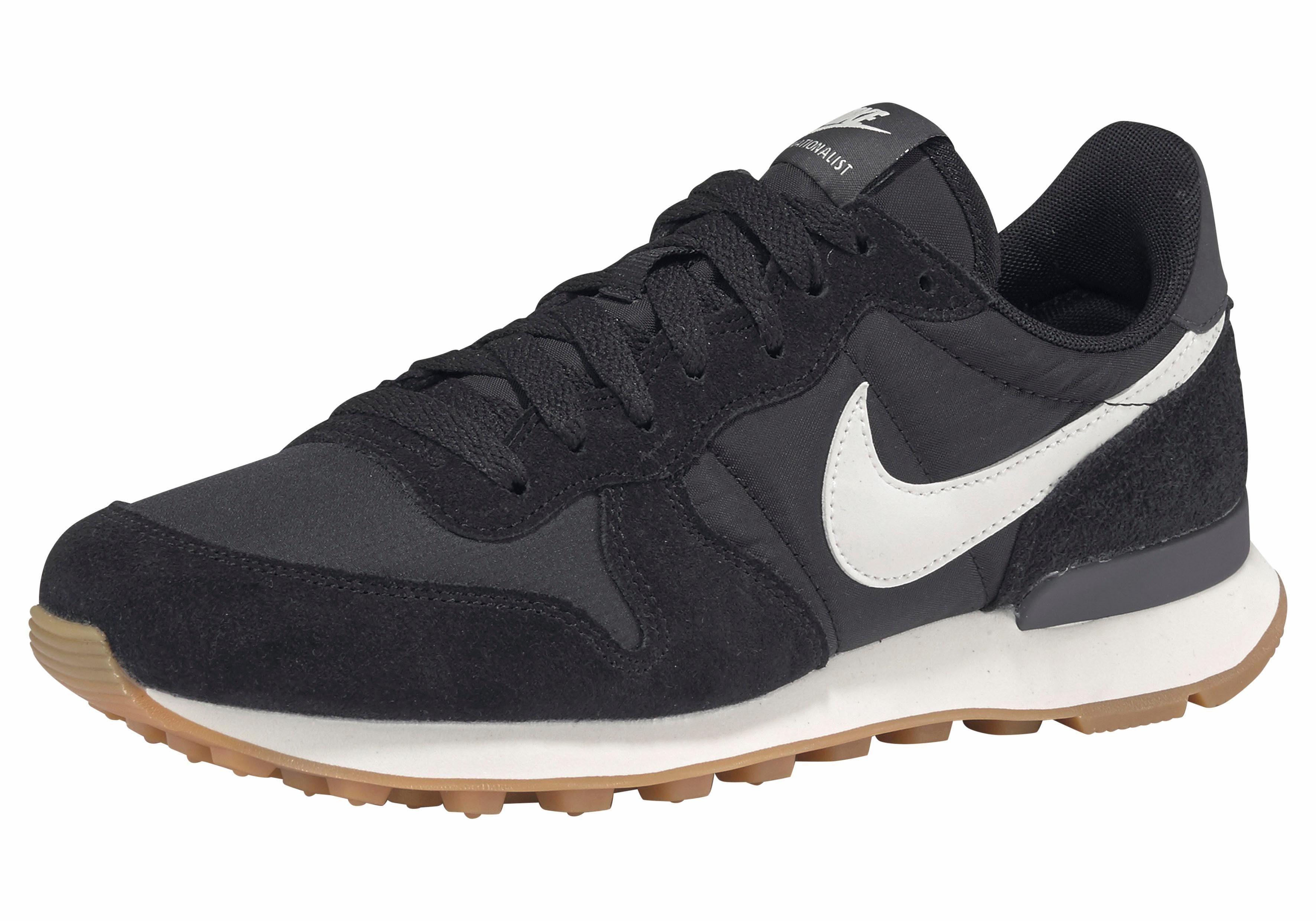 Nike Sportswear Wmns Internationalist Sneaker  schwarz-weiß
