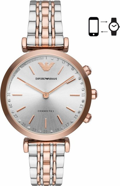 Smartwatches - EMPORIO ARMANI CONNECTED ART3019 Smartwatch (Android Wear)  - Onlineshop OTTO