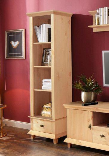 Home affaire Regal »Gali«, aus Massivholz, in zwei verschieden Farben, Breite 50 cm