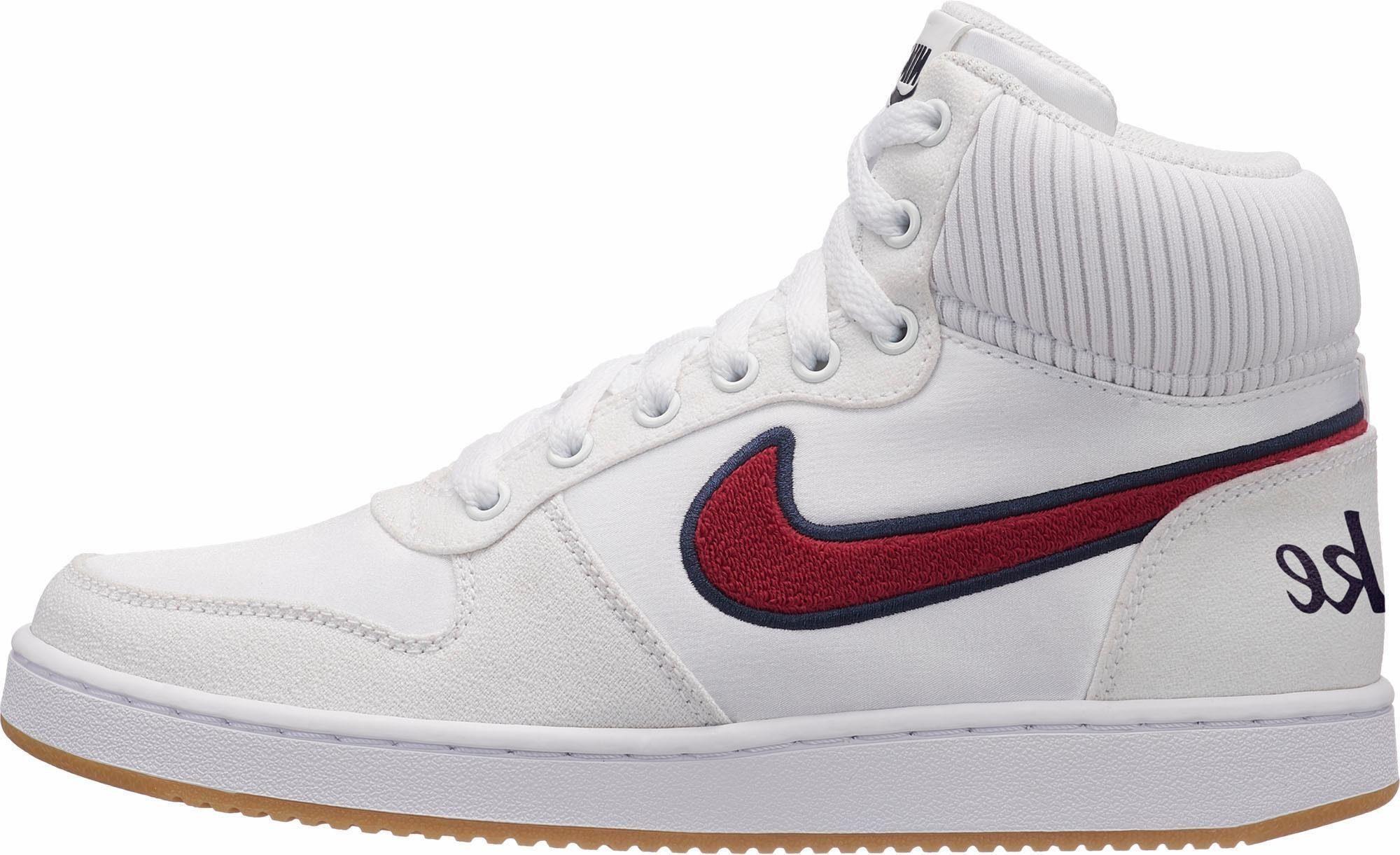 Nike Sportswear Wmns Ebernon Mid Premium Sneaker  weiß
