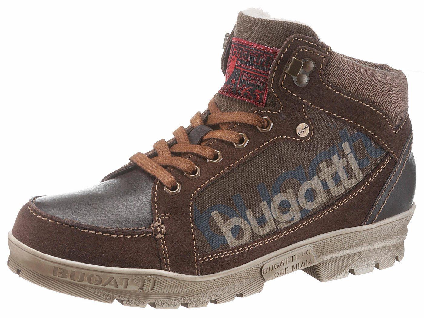 Bugatti Winterstiefel mit robuster Laufsohle   Schuhe > Boots > Winterstiefel   Braun   Bugatti
